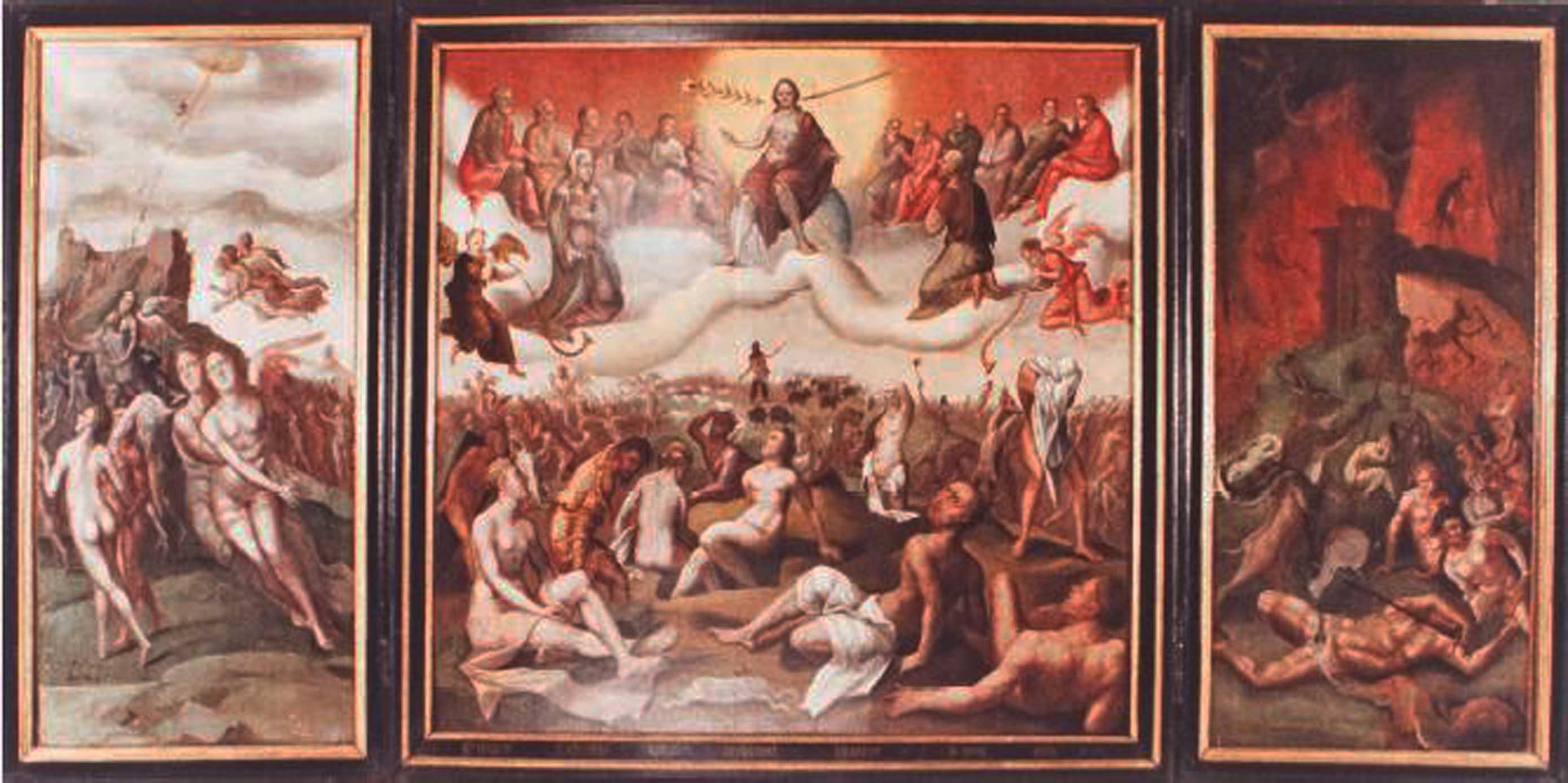 160722 s Gravenzande  drieluik Het laatste oordeel a