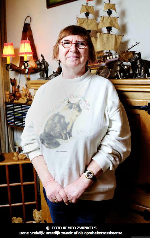161230 Irene Stokdijk Breedijk veertig jaar tussen de pillen