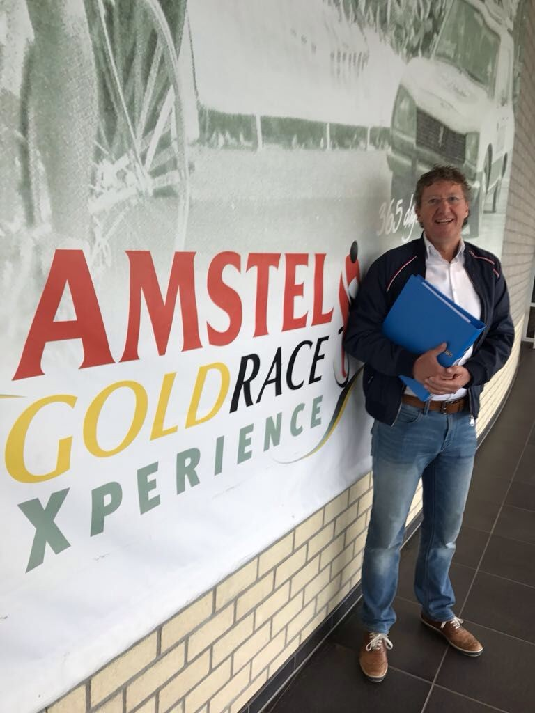 170411 Archivaris Peter Smit en de Amstel Gold Race