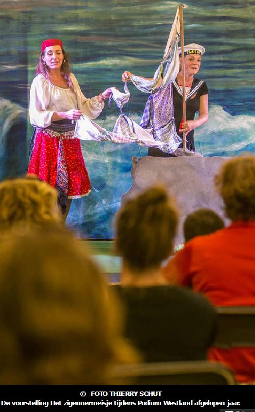 170831 De voorstelling Het Zigeunermeisje tijdens Podium Westland vorig jaar