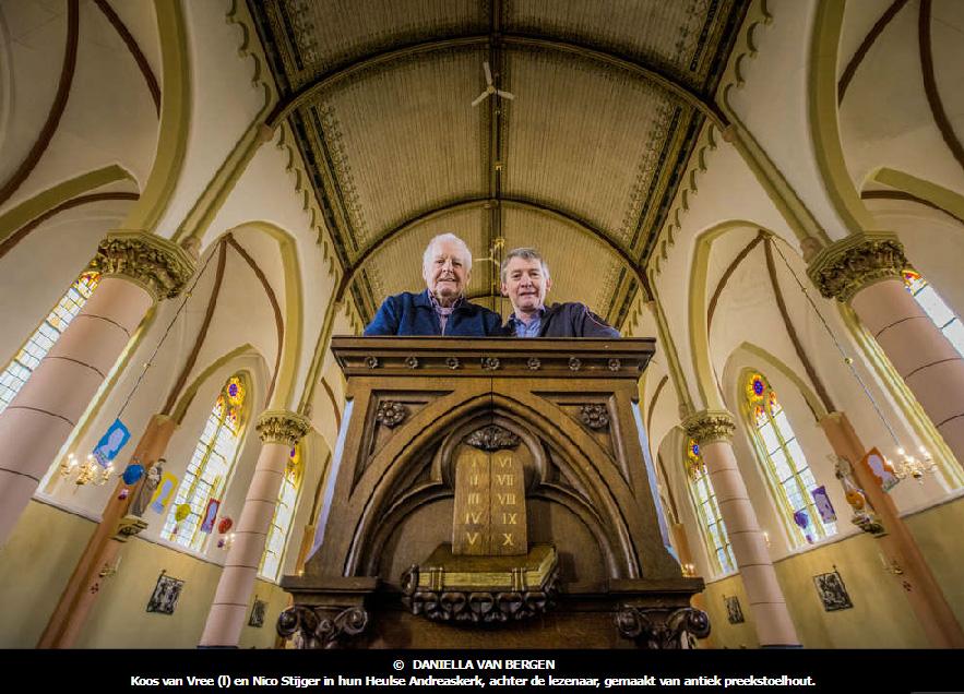 180227 Koos van Vree links en Nico Stijger Andreaskerk