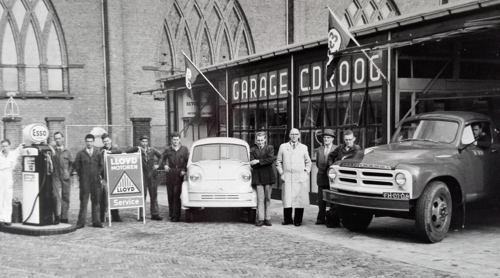 180605 De Droog garage nabij de Adrianuskerk