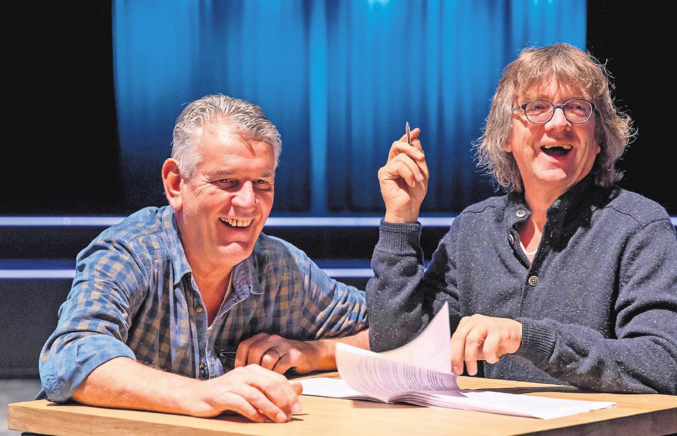 181207 Oudejaarsconference Nico Meijer en Aartvan den Berg