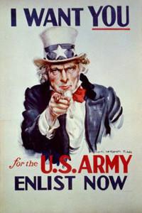 200321 Originele Uncle Sam poster I want you
