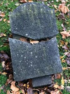 JW gebroken steen