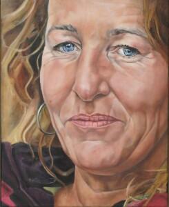 Mariska de Kok zelfportret